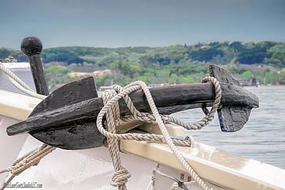 Photograph - Manitou Tallship Anchor by LeeAnn McLaneGoetz McLaneGoetzStudioLLCcom