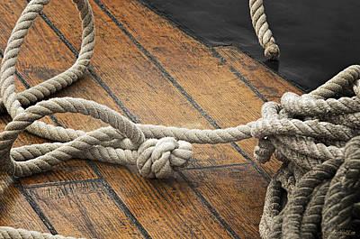 Photograph - Manitou Tallship Boating Knot by LeeAnn McLaneGoetz McLaneGoetzStudioLLCcom