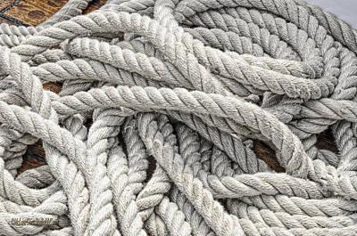 Photograph - Manitou Tallship Ropes by LeeAnn McLaneGoetz McLaneGoetzStudioLLCcom