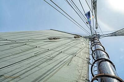 Photograph - Manitou Tallship Sails by LeeAnn McLaneGoetz McLaneGoetzStudioLLCcom
