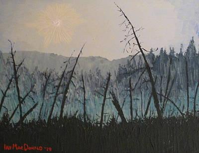 Painting - Manitoulin Beaver Meadow by Ian  MacDonald