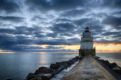 Photograph - Manitowoc 4 by CA  Johnson