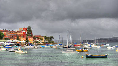 Photograph - Manly Cove Sydney Australia by Lawrence S Richardson Jr