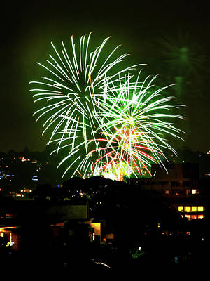 Photograph - Manly Fireworks by Miroslava Jurcik