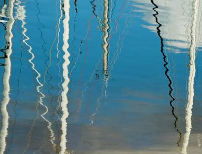 Photograph - Manly Marina Reflections by Denise Clark