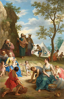 Balthasar Painting - Manna-lese by Celestial Images