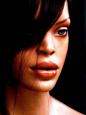 Rihanna Photograph - Mocha Velvet  by Andre Brown