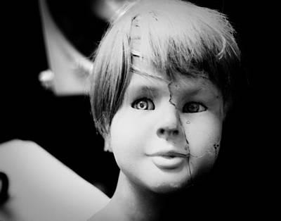 Mannequin Boy Art Print by Sonja Quintero
