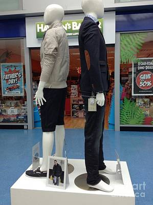 Photograph - Mannequin Display At Fishergate 2 by Joan-Violet Stretch