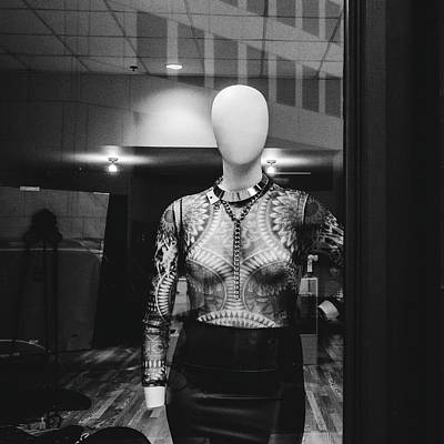 Photograph - Mannequin In Window by Dylan Murphy
