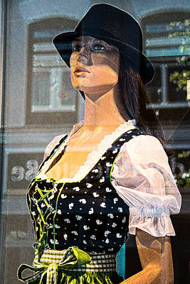 Mannequin Photograph - Mannequin Series 4 - Oktoberfest 05 by Colin Hunt