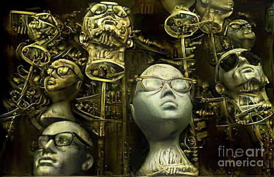 Steampunk Royalty-Free and Rights-Managed Images - Mannequins 9 by Amy Cicconi