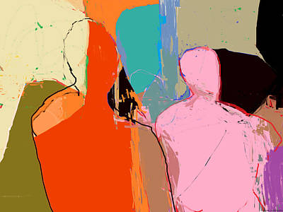 Abstracted Figuration Digital Art - Mannequins  by Carl  Contrera
