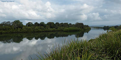 Digital Art - Manning River Taree 6369 by Kevin Chippindall