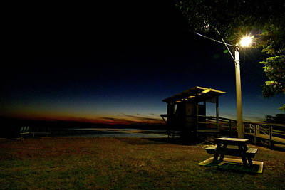 Photograph - Manns Beach Nocturnal 2 by Evelyn Tambour