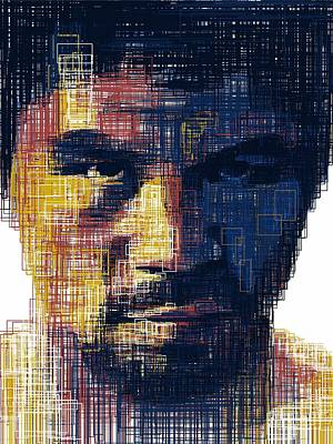 Floyd Mayweather Drawing - Manny Flag by Harold Belarmino