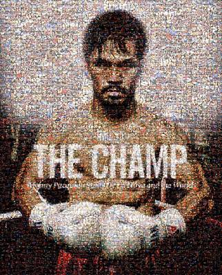 Pacman Wall Art - Digital Art - Manny Pacquiao-the Champ by Ted Castor