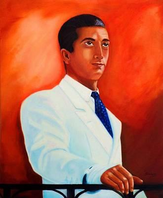 Painting - Manolete El Hombre by Manuel Sanchez