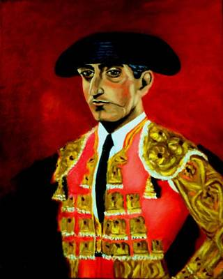 Manolete  Art Print by Manuel Sanchez