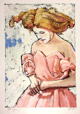 Geisha Girl Painting - Manon by H James Hoff