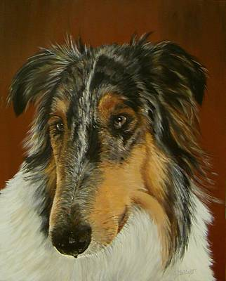 Painting - Man's Best Friend by Sheryl Gallant
