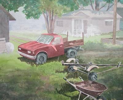 Painting - Man's Pleasures by Tony Caviston