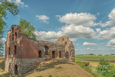 Photograph - Manstorps Gavlar Ruin by Antony McAulay