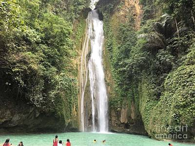 Photograph - Mantayupan Falls by Kay Novy