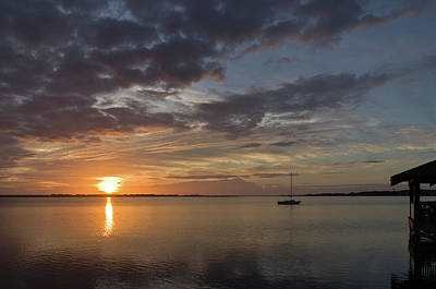 Photograph - Manteo Sunrise by Gregg Southard