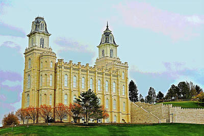 Photograph - Manti Temple by Patricia Haynes