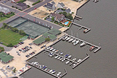 Photograph - Mantoloking Yacht Club Mantoloking New Jersey II by Duncan Pearson