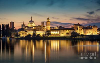 Photograph - Mantova Twilight by Brian Jannsen