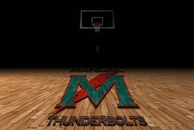 Manual Thunderbolts 5 Art Print by Joe Hamilton