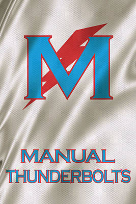 Manual Thunderbolts 6 Art Print by Joe Hamilton