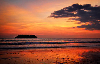 Photograph - Manuel Antonio Sunset by Carolyn Derstine