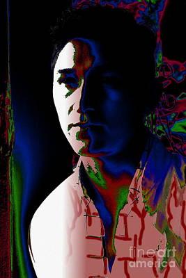 Photograph - Manuel Portrait 3 by Robert D McBain