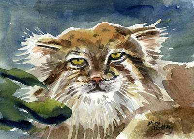 Painting - Manul by Mimi Boothby