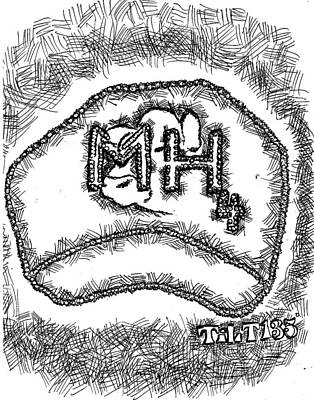 Drawing - Manure by William Tilton