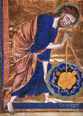 Photograph - Manuscript Illumination by Granger