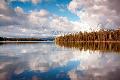 Teton Digital Art - Many Clouds Few Mountains by Amanda Kiplinger