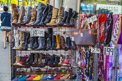 Photograph - Many Colors Of Boots  by John McGraw