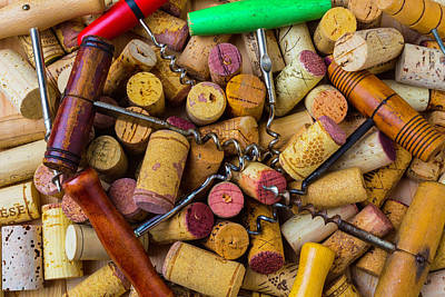 Vintner Photograph - Many Corkscrews by Garry Gay