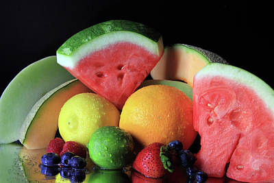 Photograph - Many Fruits by Angela Murdock