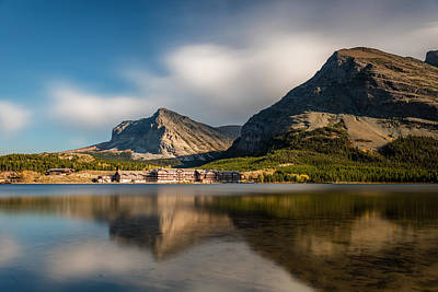 Photograph - Many Glacier Hotel by Pierre Leclerc Photography