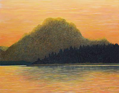 Painting - Many Glaciers by Mary Ann King