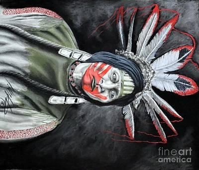 Many  Horns  Lakota Original