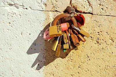 Photograph - Many Locks Of Love by JAMART Photography