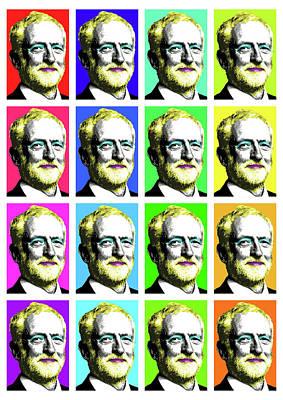 Digital Art - Many Marilyn Corbyn's by Gary Hogben