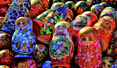 Photograph - Many Matryoshka by JAMART Photography