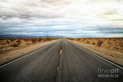 Photograph - Many Miles Through Mojave Desert by Benjamin Wiedmann